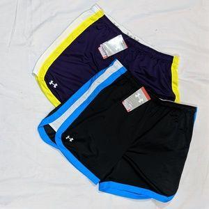 NWT Under Armour Loose Shorts Bundle Sz L